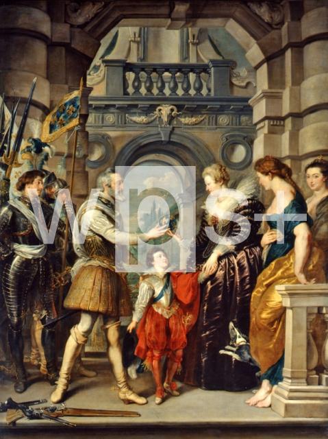 RUBENS Pieter Paul|アンリ4世...