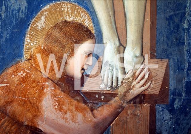 GIOTTO DI BONDONE|キリスト伝「キリストの磔刑(部分)」  キリスト伝「キリスト