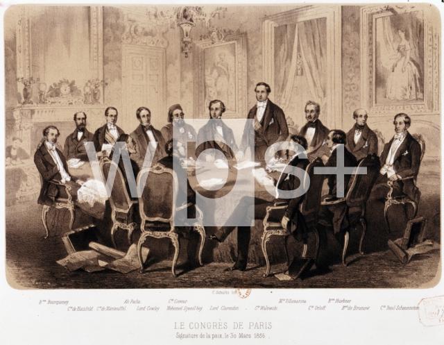 パリ条約、1856年3月30日 - 歴史 | wps+(ワールド・フォト・サービス)