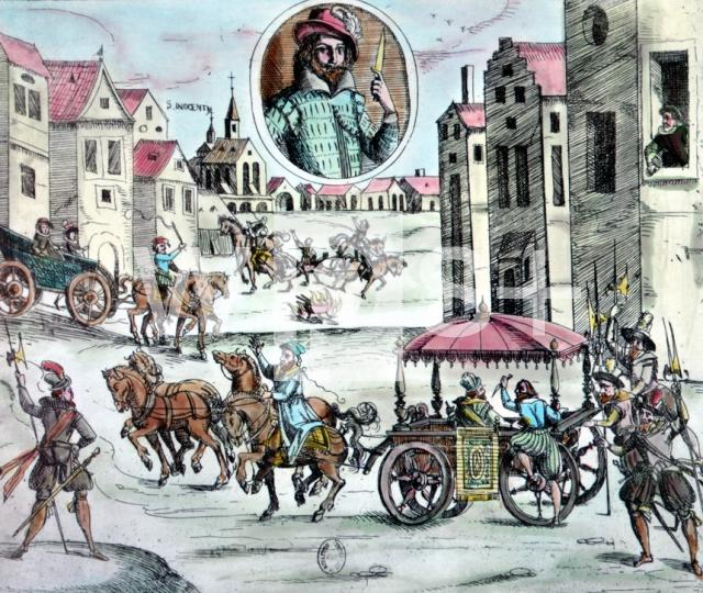 アンリ4世に襲いかかるラヴァイ...