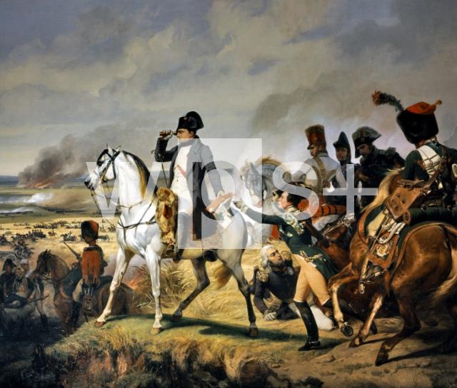 ... するナポレオン、1809年7月6日