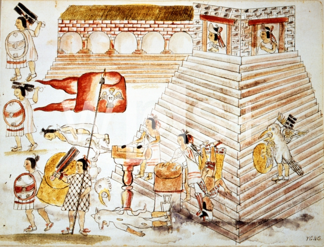 テノチティトランの虐殺、1520年...