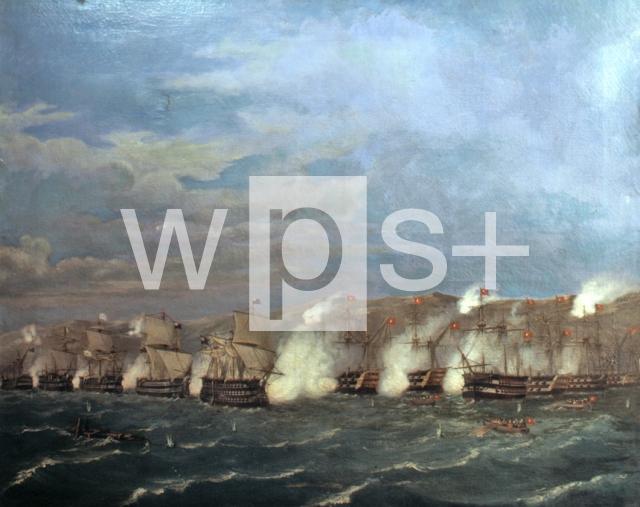ナヴァリノの海戦、1827年10月20...