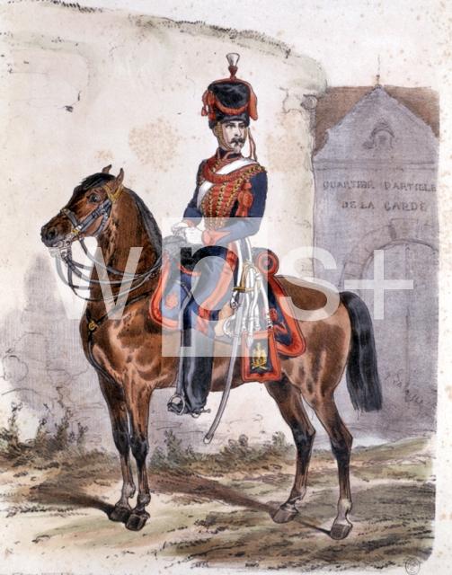 フランス皇帝ガードの軍服、1816年 - 風俗史 | wps+(ワールド・フォト・サービス)