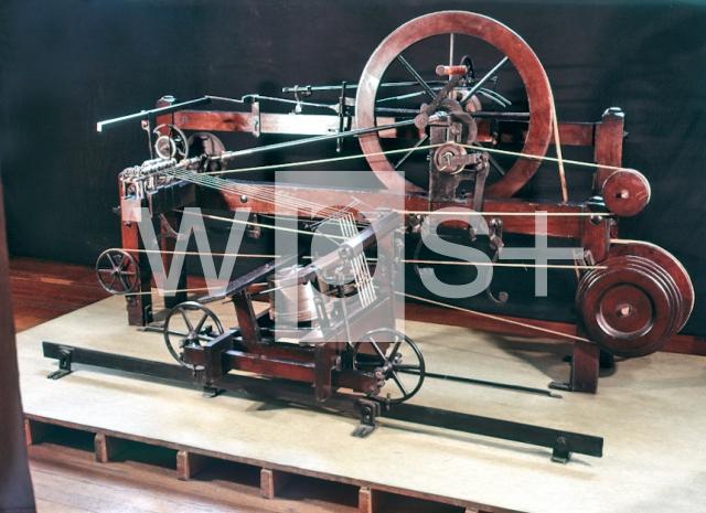 クロンプトンのミュール紡績機 -...